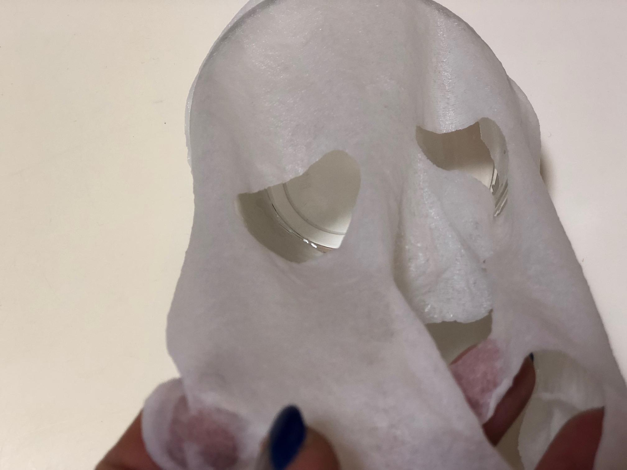 コインマスクを広げてパック