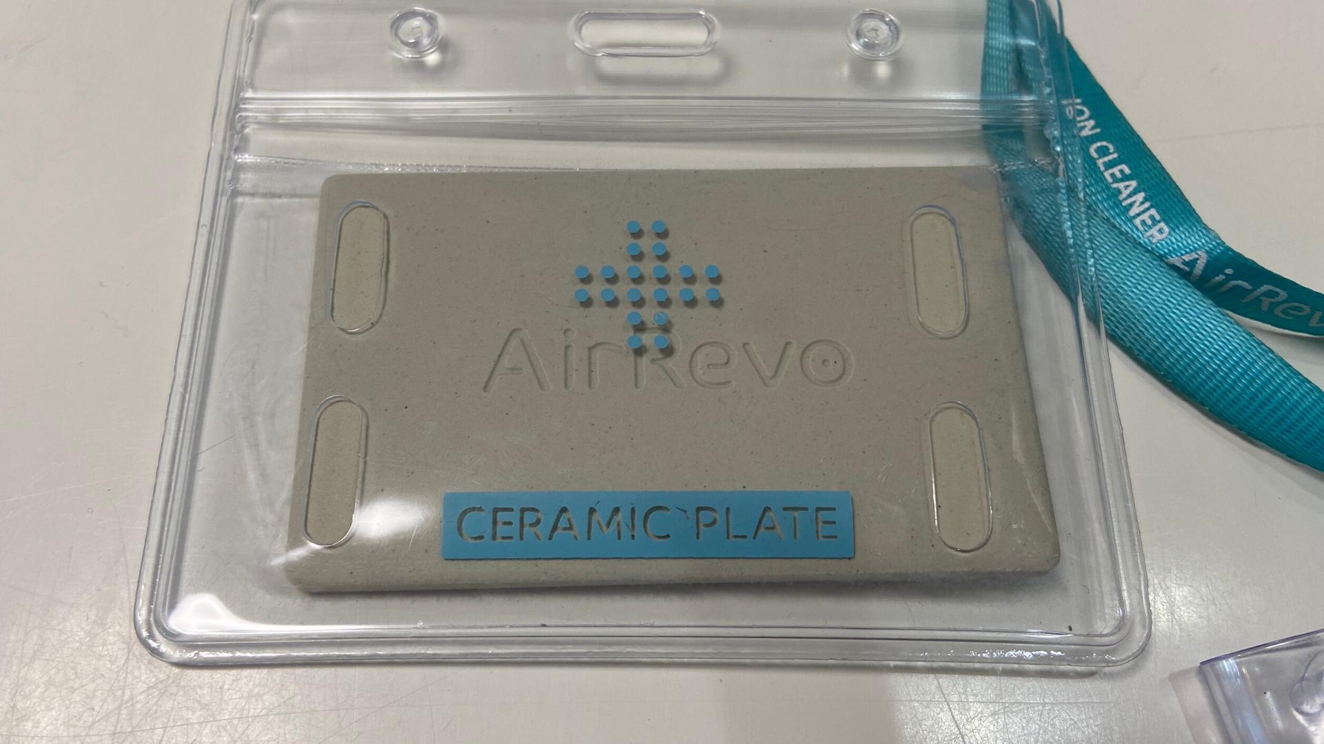 装着簡単Air Revoセラミックカード