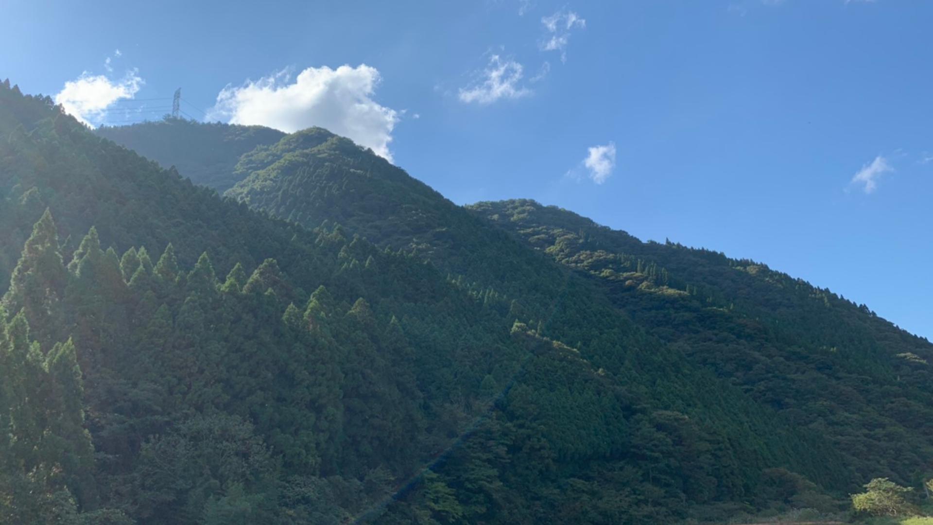 山の中にある金持神社